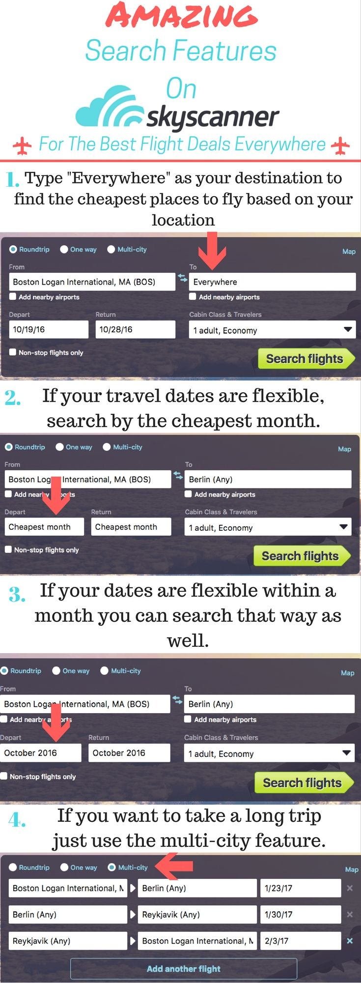 Reasons why #Skyscanner is my go to #flight search engine