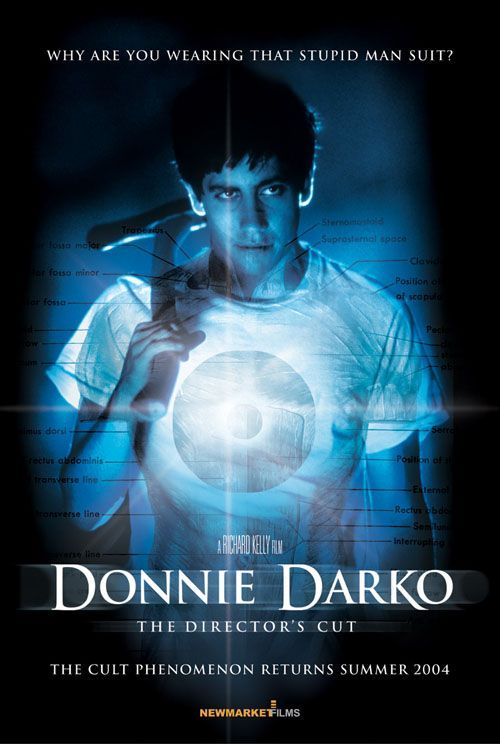 Donnie Darko - Loved it.  Time travel, alcoholic mom, overcoming positive thinking public speakers.  Awesome.