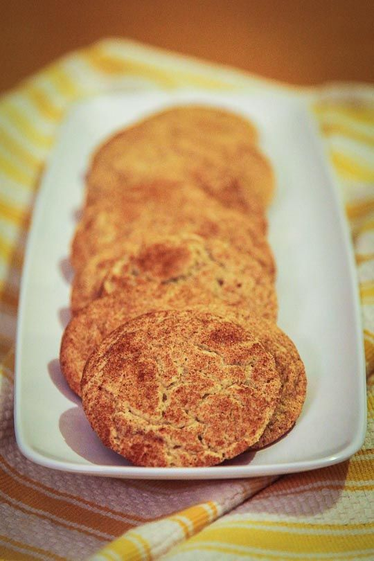 Not 100% Paleo - Gluten Free Snickerdoodles by Irvin Lin of Eat the ...