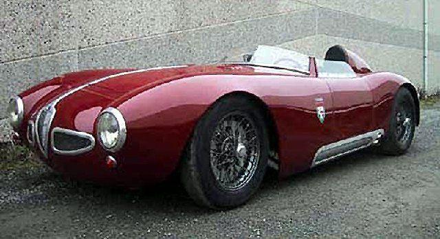 1957 #Alfa Romeo 1900 Barchetta Conrero Telaio Tubolare #italiandesign