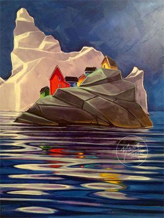 60 Best Newfoundland Art Images On Pinterest