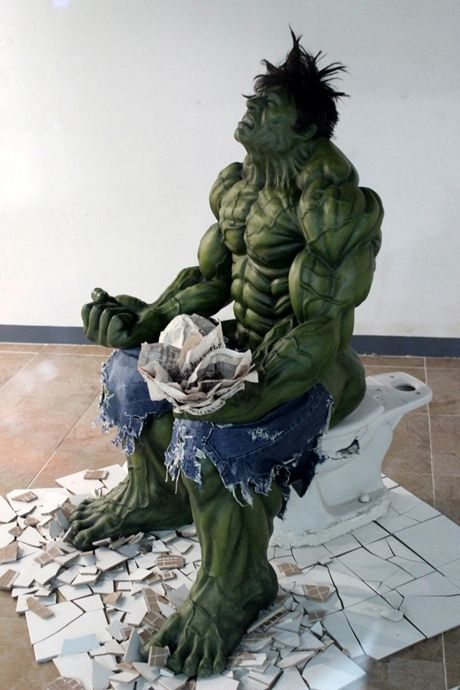 OK Lou, you will have to fix that.: Comic, Art, Funny Stuff, Hulk Smash, Humor, Funnies, Things, Superhero