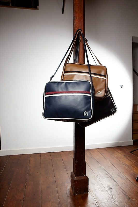 Mens Bags  McGuire Bag - Available in White and Tan