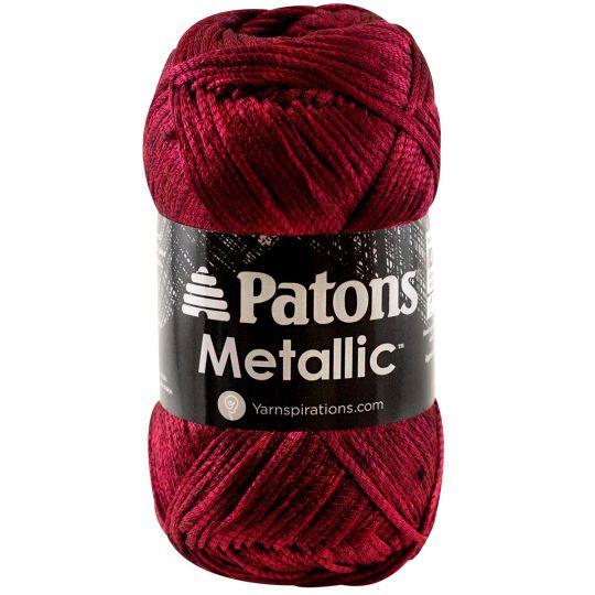 Patons® Metallic™ Yarn   Metallic yarn, Knitting, Loom ...