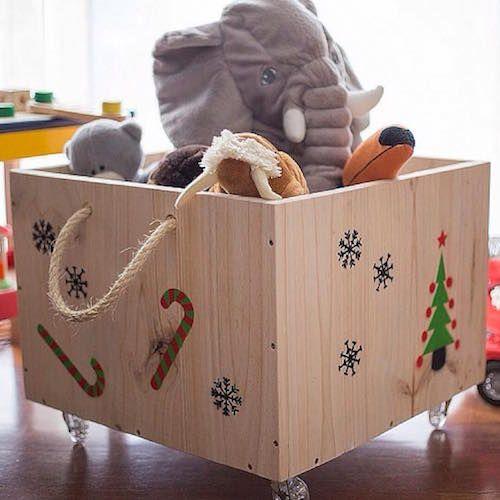 17 mejores ideas sobre cajas para guardar juguetes en - Cajas para guardar herramientas ...