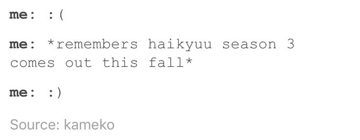 Watching Haikyuu like