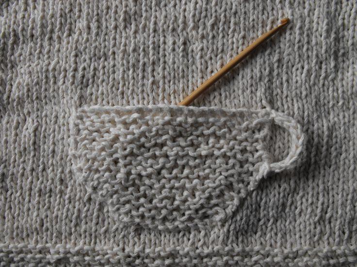 Knitty inspiration :: A cute pocket  :-)   . . . .   ღTrish W ~ http://www.pinterest.com/trishw/  . . . .   #crochet