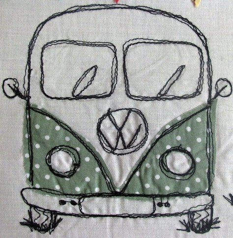 Campervan by Vintage Jelly
