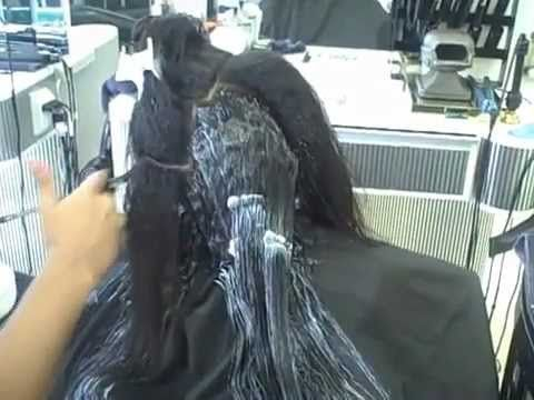 African American (Thick not Fine) Hair Texture and Thermal Reconditioning
