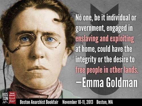 a biography of emma goldman