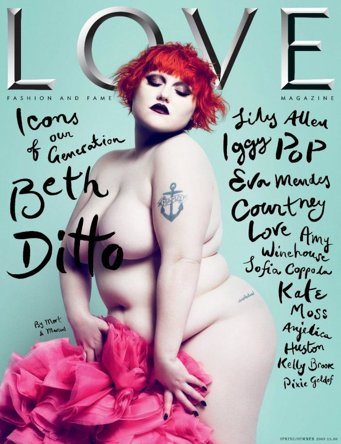 Beth Ditto LOVE cover