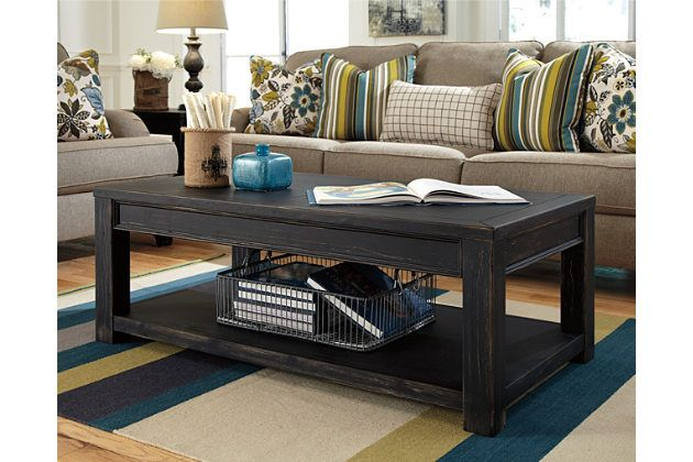 Gavelston Coffee Table Coffee Table Black Sofa Table Ashley
