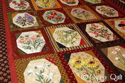 "Gipsy Quilt: ""Flowers Flowers!"" en bonne voie..."