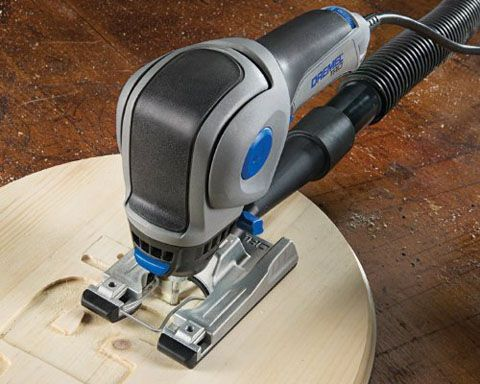 The Dremel Trio is the ideal tool for all your cutting, sanding, and routing needs. Thanks to its unique 360-degree cutting technology and plunge-cut abili