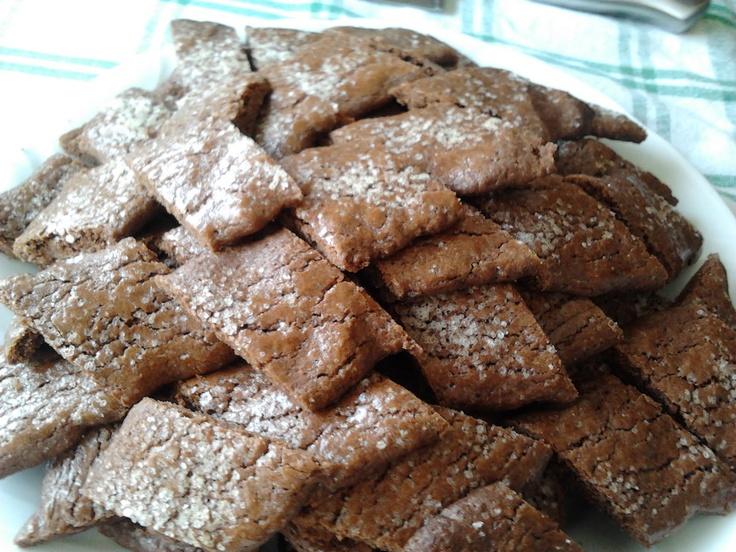Kollégista Gurman: Csokis rombuszkeksz
