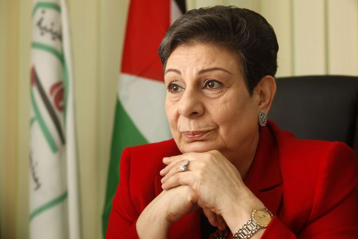 Hanan Ashrawi says reality is one of 'ethnic cleansing,' claims secretary-general gave in to 'political blackmail' when he rejected Israel-bashing paper