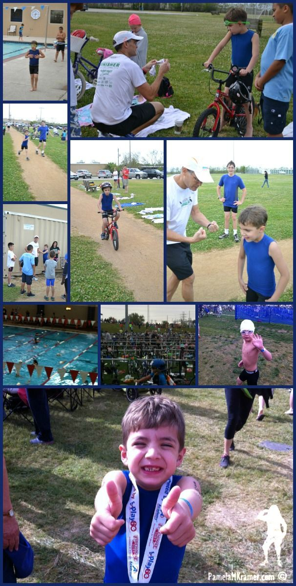 The Houston Kids Triathlon 2013 - A Renaissance Woman by Pamela M. Kramer