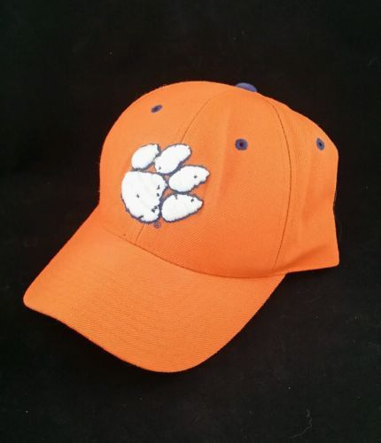 Clemson Tigers colosseum fitted baseball cap embroidered tiger paw 7 1/4