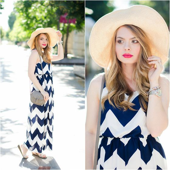 Get this look: http://lb.nu/look/7507884  More looks by Iuliana Rosu: http://lb.nu/pinkwishblog  Items in this look:  Zaful Dress, Primark Sun Hat   #casual #chic #street