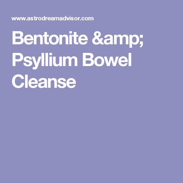 Bentonite & Psyllium Bowel Cleanse