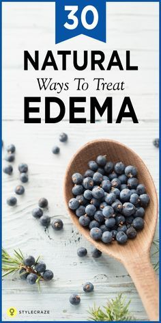 Swollen ankles and feet, puffy eyes and a general feeling of heaviness — yes, you may have edema. Edema, in simpler terms, is water retention. Water tends to accumulate between cells in your soft tissue and can occur due to many conditions. Here are 30 effective home remedies to treat edema.  #HomeRemedies