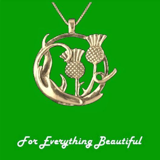 For Everything Genealogy - Thistle Swirl Floral Emblem Circular 14K Yellow Gold Pendant, $540.00 (http://foreverythinggenealogy.mybigcommerce.com/thistle-swirl-floral-emblem-circular-14k-yellow-gold-pendant/)