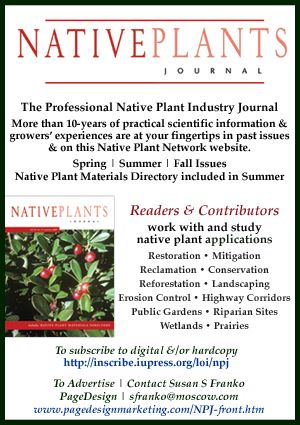 Native Plant Journal  How to propagate Red Chokeberry, courtesy of the USDA Native Plant Network.