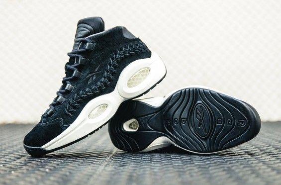 http://SneakersCartel.com The Hall Of Fame x Reebok Question Mid Is Inspired By Allen Iverson's Cornrows #sneakers #shoes #kicks #jordan #lebron #nba #nike #adidas #reebok #airjordan #sneakerhead #fashion #sneakerscartel