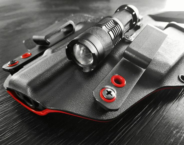 Glock 19 Gen 4 with The DCR 2.0 Appendix Sidecar Holster From RedlineConcealmentHolsters.com