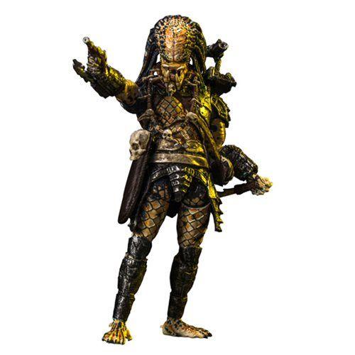 Predator 2 Elder Predator 1:18 Scale Action Figure - PX - Hiya Toys - Predator - Action Figures at Entertainment Earth