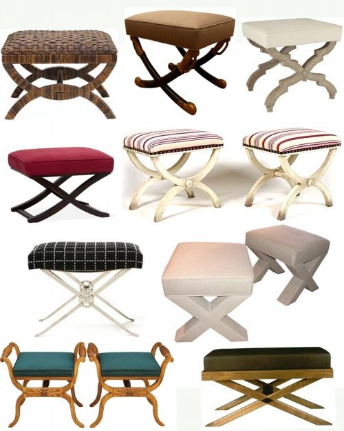 57 best X Shaped Stools images on Pinterest | Benches, Home and ...