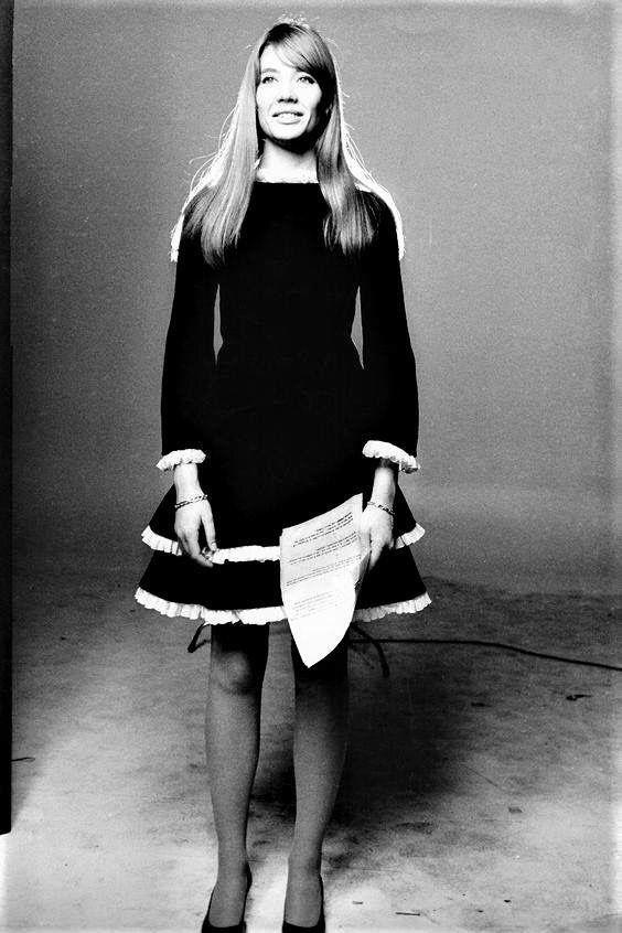 """isabelcostasixties: """"Françoise Hardy """""""