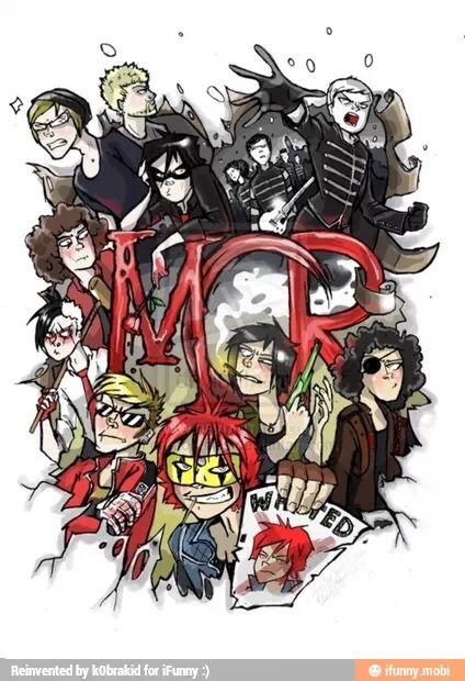 My Chemical Romance MCR