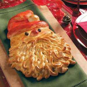 Learn how to make this cute Santa bread with easy step-by-step instructions. He's sure to make your Christmas merry!