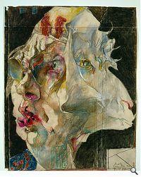 Horst Janssen - 1929-1995 - Absinth, 1983