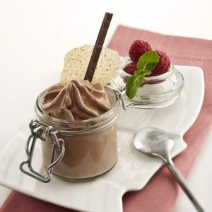 Chocolate Mousse in isi whipper!