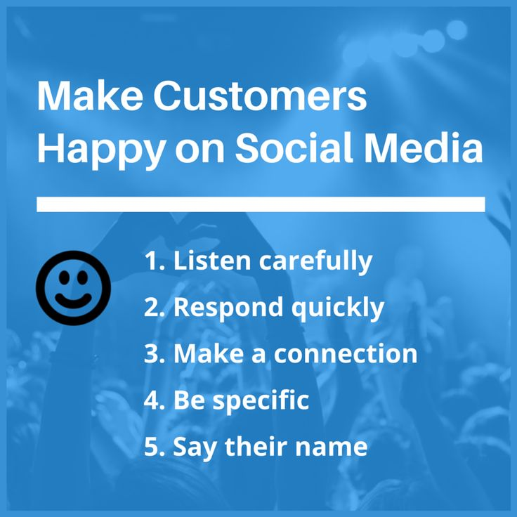 The Art of Making Customers Happy on Social Media
