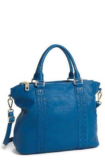 Steven by Steve Madden 'Paris' Leather Satchel available at #Nordstrom