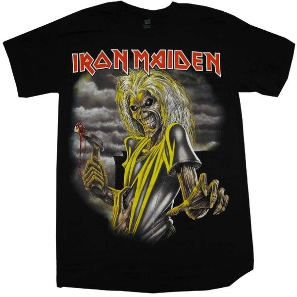 Global\ Merchandising\ Services Iron Maiden Killers Album Cover Rock... ❤ liked on Polyvore