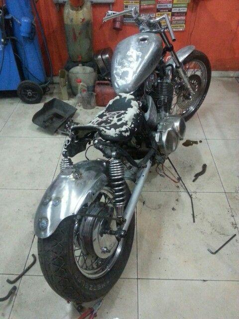 Yamaha virago 535 restorasyon
