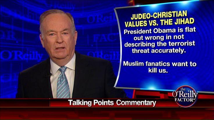 "2/18/15 - Bill O'Reilly tonight slammed President Barack Obama's speech on violent extremism as ""long on rhetoric, short on proposed action."""