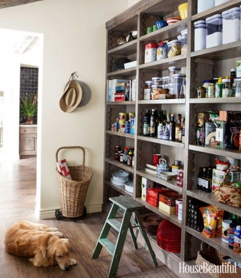Shallow Open Pantry Shelves In Kitchen: 17 Best Images About Farmhouse Pantry Ideas On Pinterest