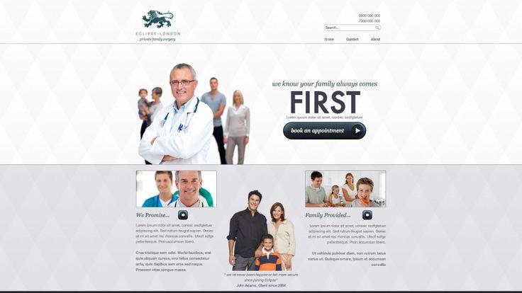 Diseño web sector sanidad,clinicas y similares