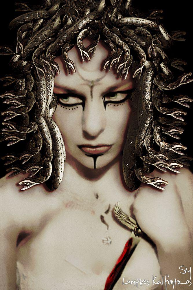 "medusa images   Inspired by Medusa (Greek: Μέδουσα (Médousa), ""guardian ..."