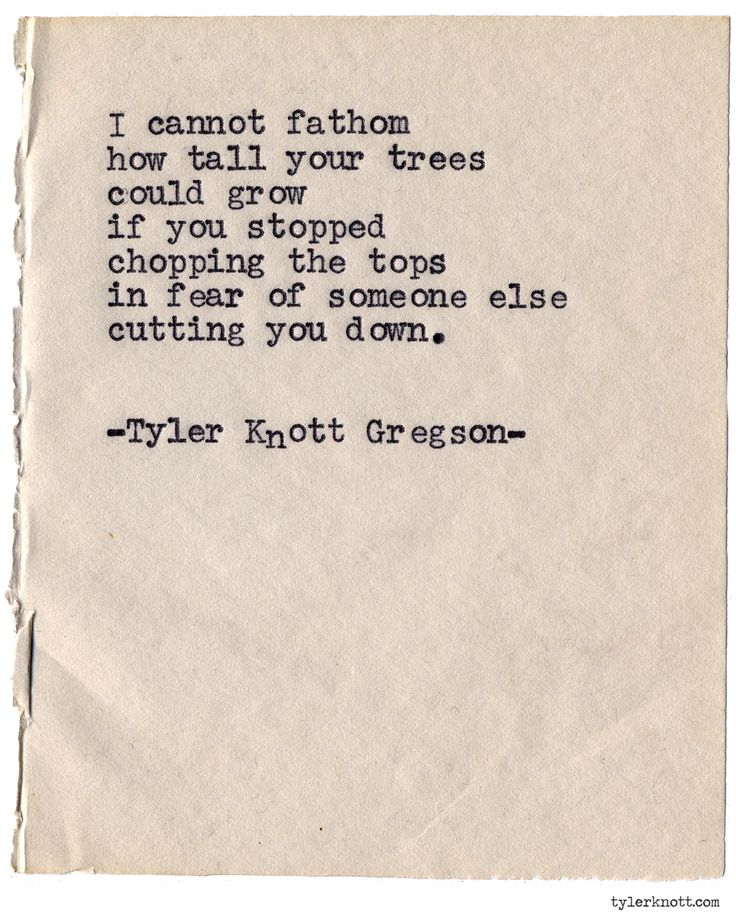 Typewriter Series #949byTyler Knott Gregson *It's official, my book,Chasers of the Light,is out! You can order it throughAmazon,Barnes and Noble,IndieBound,Books-A-Million,Paper SourceorAnthropologie*