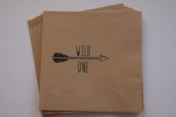 Wild One Theme Children's Arrow Birthday Party by WithLoveAndInk