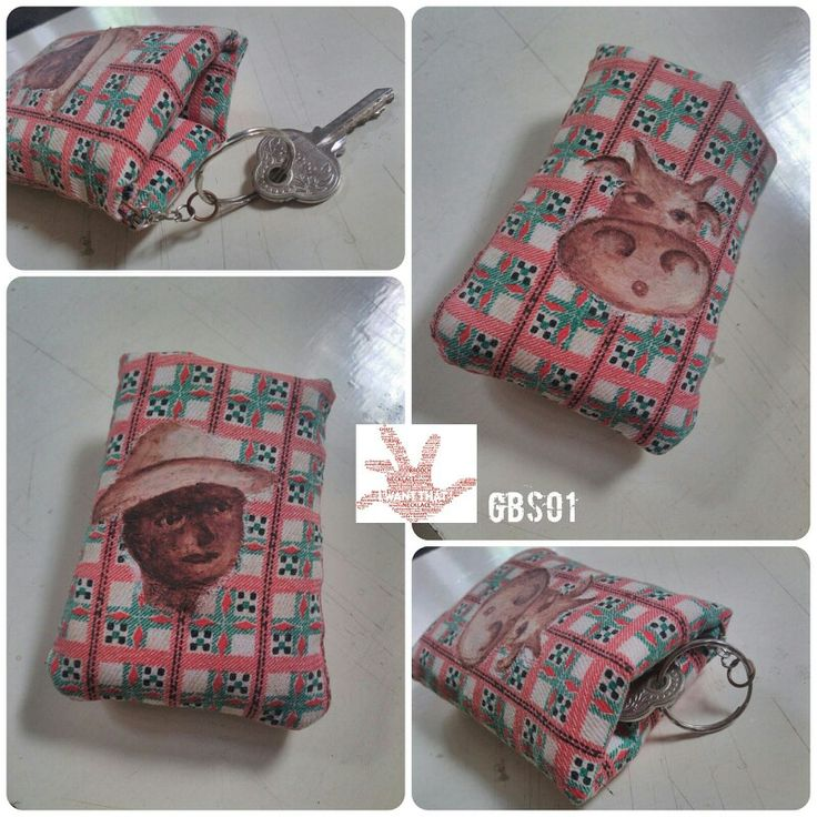 New collection! GBS01- painting keychain IDR. 20k 100% handmade