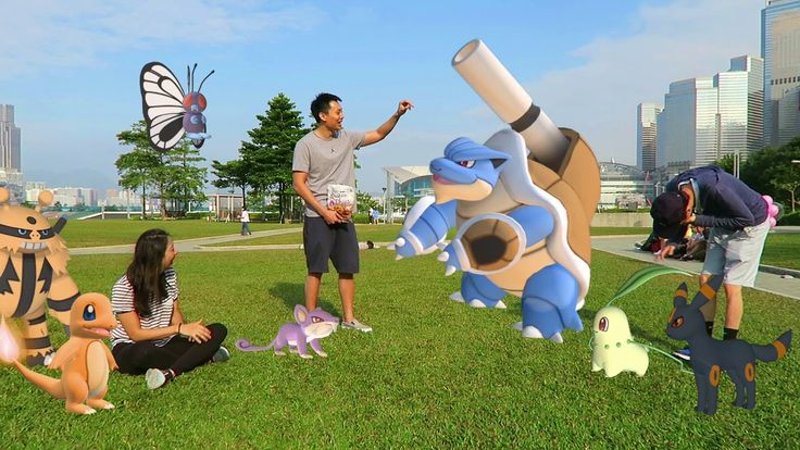 I always imagined having Pokemon in real life here's what our adventures would be like!