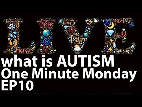 What is AUTISM One Minute Monday Episode 10