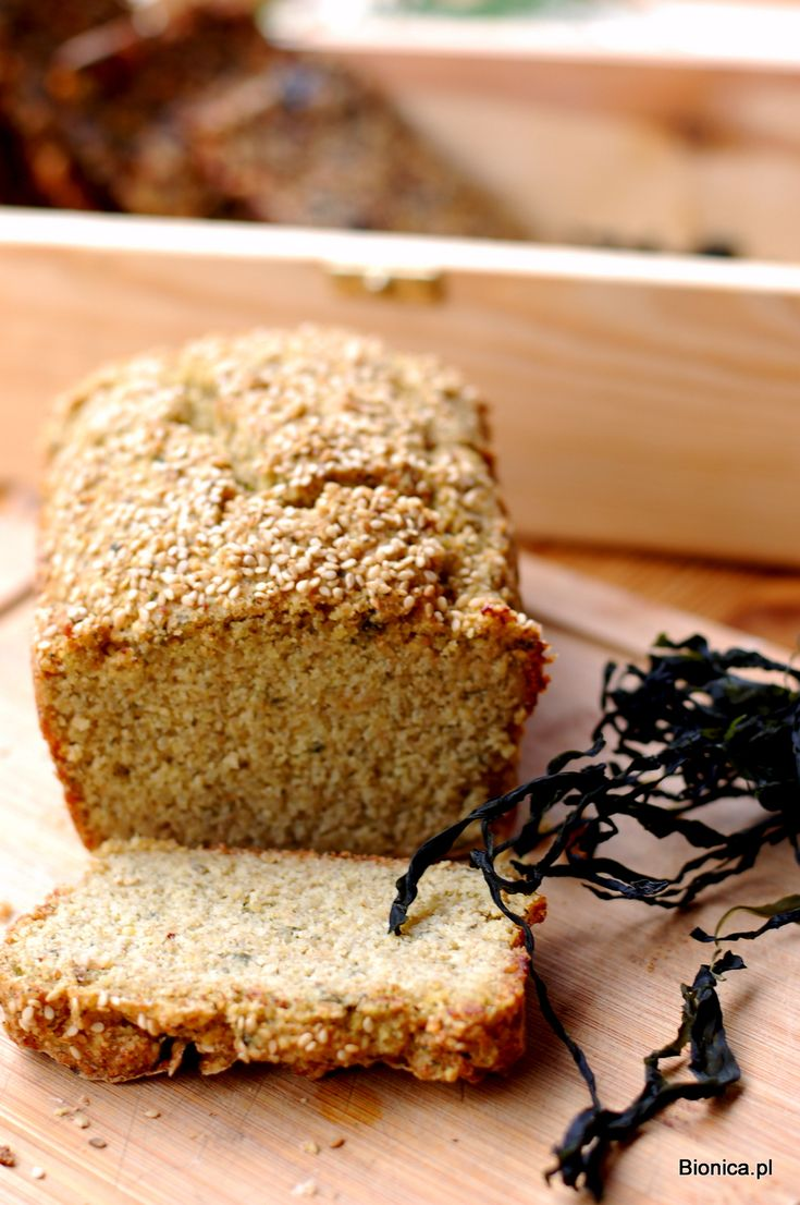 slimming down gluten free bread with seaweeds chleb z kaszy jaglanej i quinoa z algami kombu
